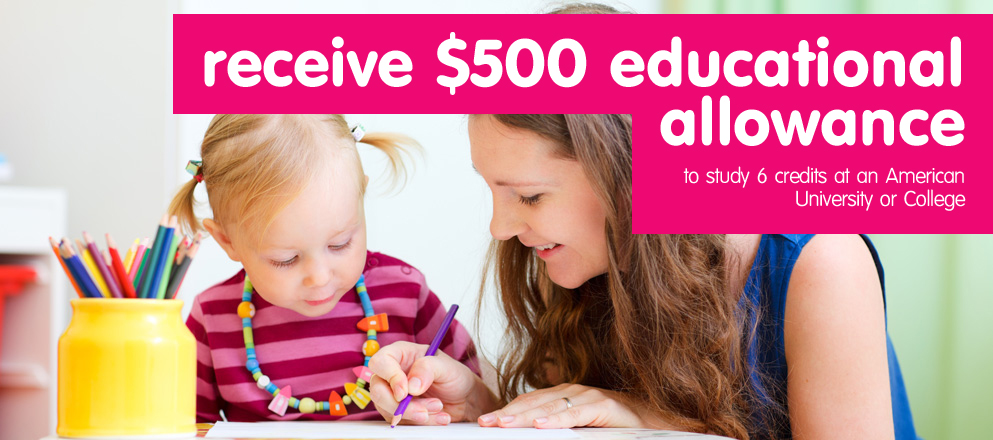 receive $500 educational allowance